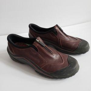 Clarks Muckers waterproof leather slip on shoe